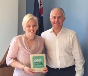 Minister Turnbull&Yvonne